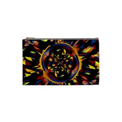 Spiky Abstract Cosmetic Bag (small)  by linceazul