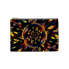 Spiky Abstract Cosmetic Bag (medium)  by linceazul