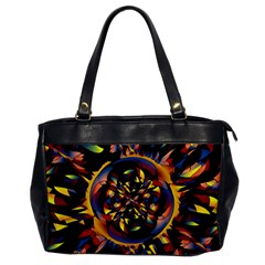 Spiky Abstract Office Handbags