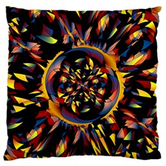 Spiky Abstract Standard Flano Cushion Case (one Side) by linceazul
