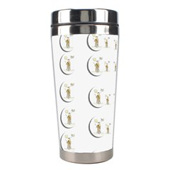 Angels Under The  Sun And Peace Doves Stainless Steel Travel Tumblers by pepitasart