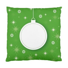 Christmas Bauble Ball Standard Cushion Case (two Sides) by BangZart