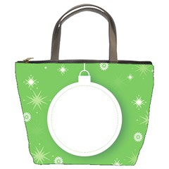 Christmas Bauble Ball Bucket Bags