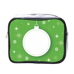 Christmas Bauble Ball Mini Toiletries Bags by BangZart