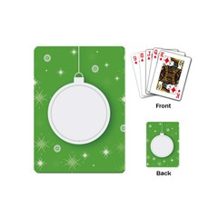 Christmas Bauble Ball Playing Cards (mini)