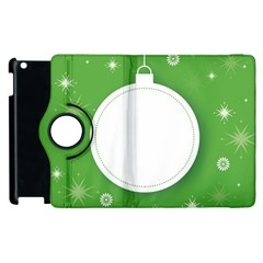 Christmas Bauble Ball Apple Ipad 2 Flip 360 Case by BangZart