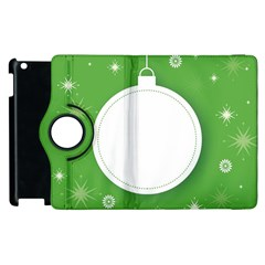 Christmas Bauble Ball Apple Ipad 3/4 Flip 360 Case by BangZart