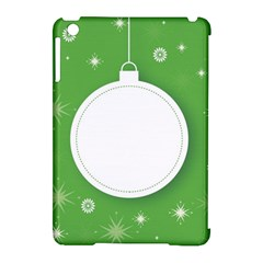 Christmas Bauble Ball Apple Ipad Mini Hardshell Case (compatible With Smart Cover)