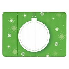 Christmas Bauble Ball Samsung Galaxy Tab 8 9  P7300 Flip Case