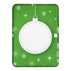 Christmas Bauble Ball Samsung Galaxy Tab 4 (10 1 ) Hardshell Case