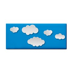 Clouds Sky Background Comic Cosmetic Storage Cases