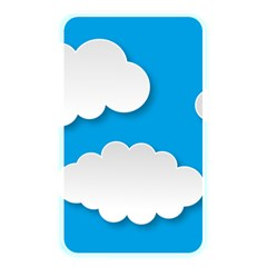 Clouds Sky Background Comic Memory Card Reader