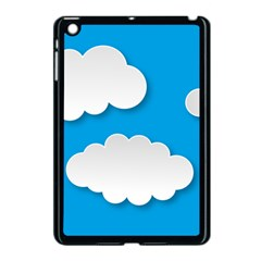 Clouds Sky Background Comic Apple Ipad Mini Case (black)