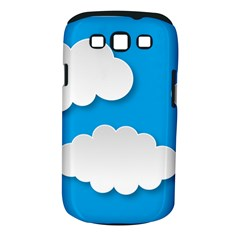 Clouds Sky Background Comic Samsung Galaxy S Iii Classic Hardshell Case (pc+silicone)