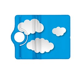 Clouds Sky Background Comic Kindle Fire Hd (2013) Flip 360 Case by BangZart
