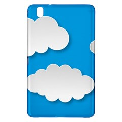 Clouds Sky Background Comic Samsung Galaxy Tab Pro 8 4 Hardshell Case
