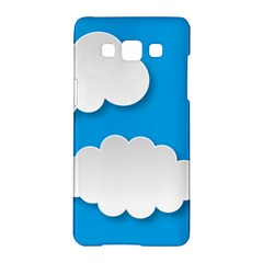 Clouds Sky Background Comic Samsung Galaxy A5 Hardshell Case