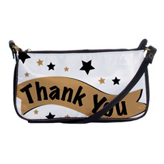 Thank You Lettering Thank You Ornament Banner Shoulder Clutch Bags
