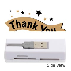 Thank You Lettering Thank You Ornament Banner Memory Card Reader (stick)