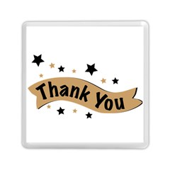 Thank You Lettering Thank You Ornament Banner Memory Card Reader (square)  by BangZart
