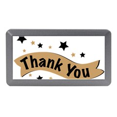 Thank You Lettering Thank You Ornament Banner Memory Card Reader (mini)