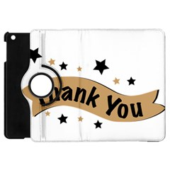 Thank You Lettering Thank You Ornament Banner Apple Ipad Mini Flip 360 Case by BangZart