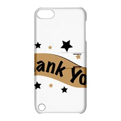 Thank You Lettering Thank You Ornament Banner Apple Ipod Touch 5 Hardshell Case With Stand