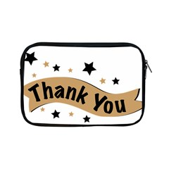 Thank You Lettering Thank You Ornament Banner Apple Ipad Mini Zipper Cases