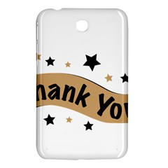 Thank You Lettering Thank You Ornament Banner Samsung Galaxy Tab 3 (7 ) P3200 Hardshell Case  by BangZart