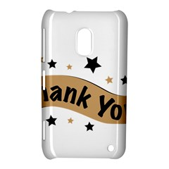 Thank You Lettering Thank You Ornament Banner Nokia Lumia 620 by BangZart