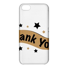 Thank You Lettering Thank You Ornament Banner Apple Iphone 5c Hardshell Case by BangZart