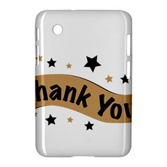 Thank You Lettering Thank You Ornament Banner Samsung Galaxy Tab 2 (7 ) P3100 Hardshell Case