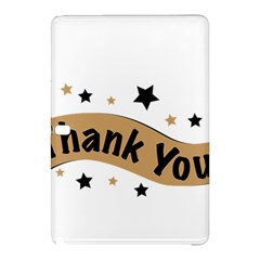 Thank You Lettering Thank You Ornament Banner Samsung Galaxy Tab Pro 10 1 Hardshell Case