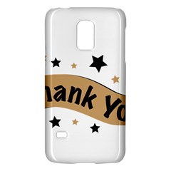 Thank You Lettering Thank You Ornament Banner Galaxy S5 Mini