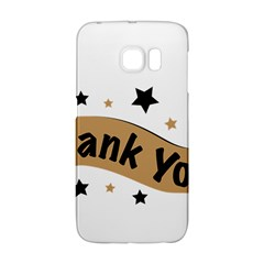 Thank You Lettering Thank You Ornament Banner Galaxy S6 Edge by BangZart