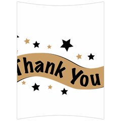 Thank You Lettering Thank You Ornament Banner Back Support Cushion
