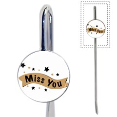 Lettering Miss You Banner Book Mark by BangZart