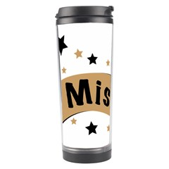 Lettering Miss You Banner Travel Tumbler by BangZart