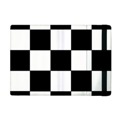 Grid Domino Bank And Black Ipad Mini 2 Flip Cases