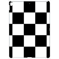 Grid Domino Bank And Black Apple Ipad Pro 12 9   Hardshell Case