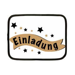 Einladung Lettering Invitation Banner Netbook Case (small)  by BangZart