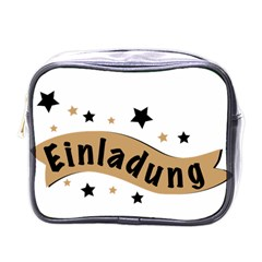 Einladung Lettering Invitation Banner Mini Toiletries Bags