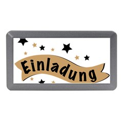 Einladung Lettering Invitation Banner Memory Card Reader (mini)