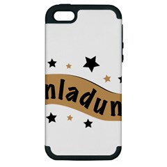 Einladung Lettering Invitation Banner Apple Iphone 5 Hardshell Case (pc+silicone)