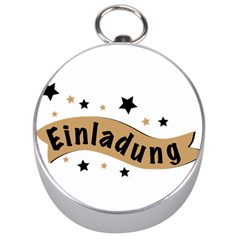 Einladung Lettering Invitation Banner Silver Compasses by BangZart