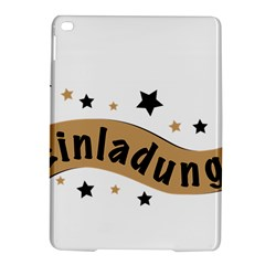 Einladung Lettering Invitation Banner Ipad Air 2 Hardshell Cases