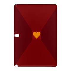 Heart Red Yellow Love Card Design Samsung Galaxy Tab Pro 10 1 Hardshell Case