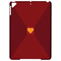 Heart Red Yellow Love Card Design Apple Ipad Pro 9 7   Hardshell Case