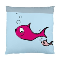 Fish Swarm Meeresbewohner Creature Standard Cushion Case (one Side) by BangZart