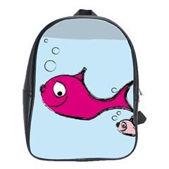 Fish Swarm Meeresbewohner Creature School Bag (large)